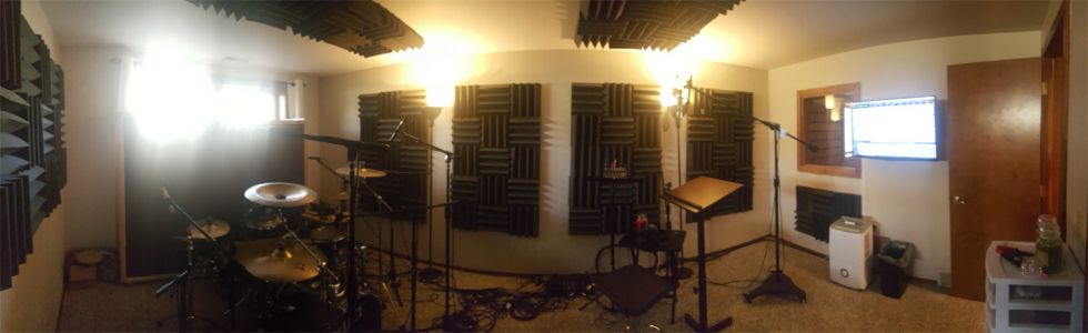 Vocal / Drum Tracking Room
