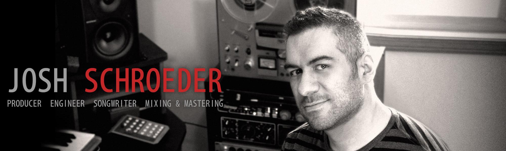 Josh Schroeder portrait